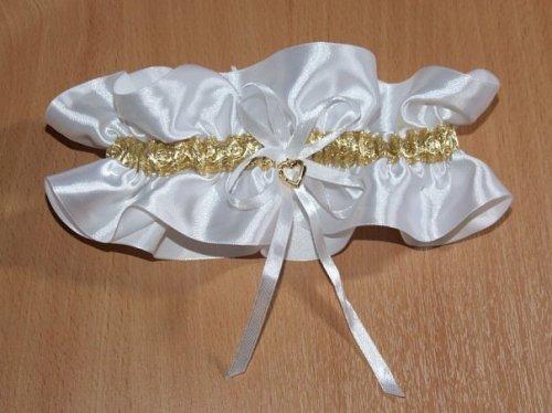 Свадебная подвязка для невесты своими руками